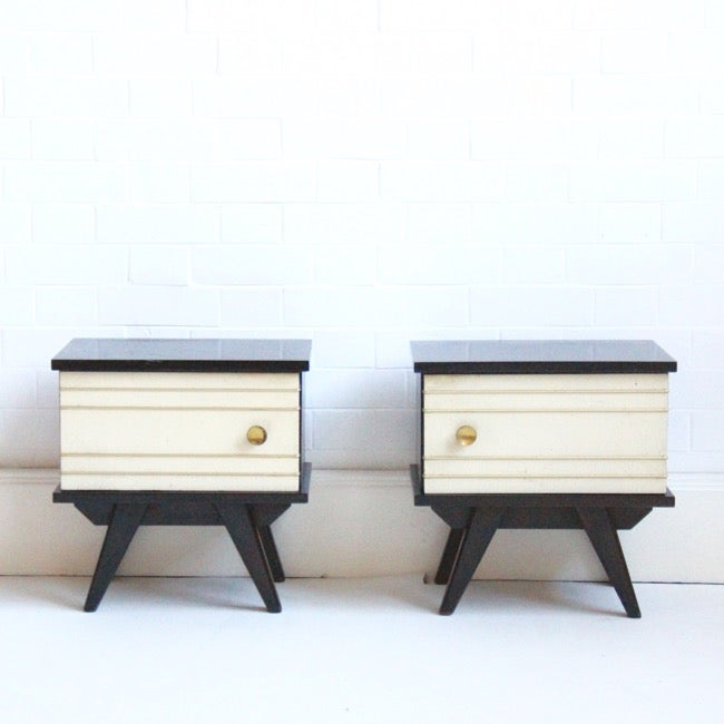 Image of small french bedside tables