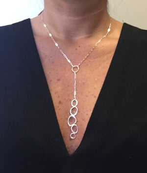 Image of Stepping Stones Lariat Necklace