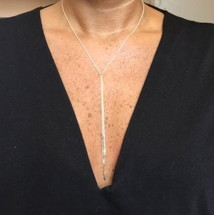 Image of Bar Lariat Necklace
