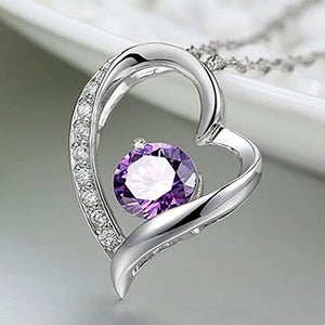 Image of Heart Pendant Necklace
