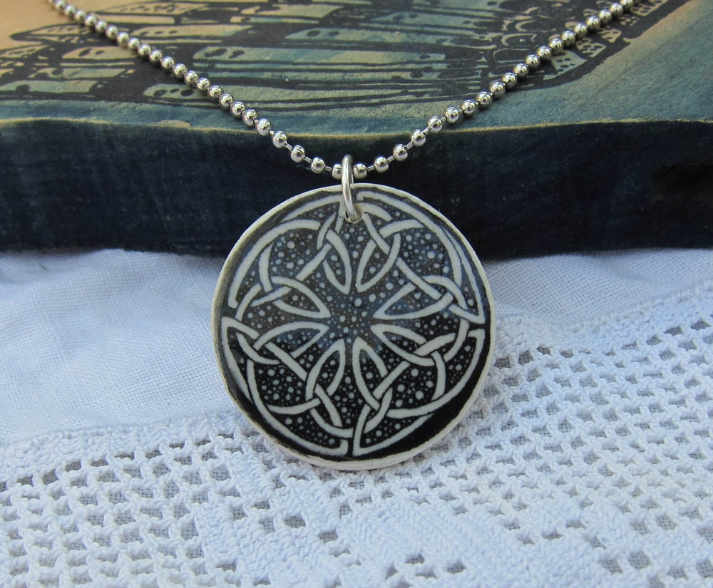 Image of celtic knot pendant