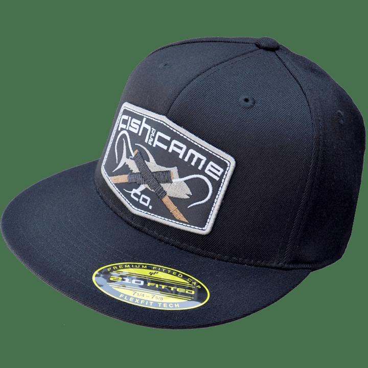 Image of The Originator Gaff® Fitted Hat (black)