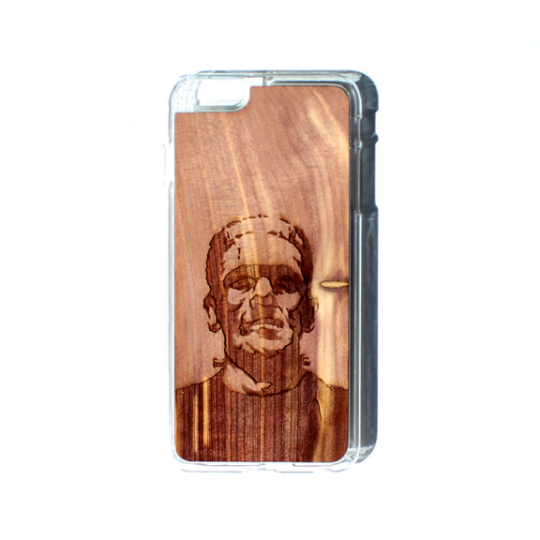 Image of TIMBER iPhone 6 Plus / 6s Plus Wood Case : Frankenstein Edition