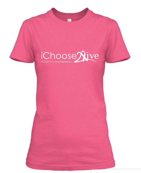 Image of Pink Women's Fitted Breast Cancer Awareness Shirts (LIMITED EDITION)