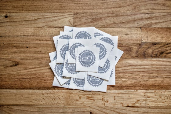 Image of e9 Cog Stickers