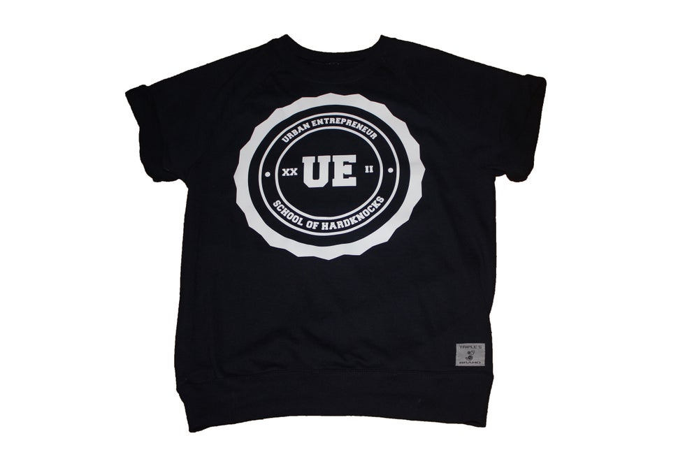 Image of Urban Entrepreneur short sleeve sweatshirt (Navy)