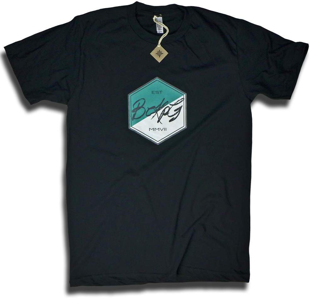"Image of ""Hexagon"" tee by Backpage Press"