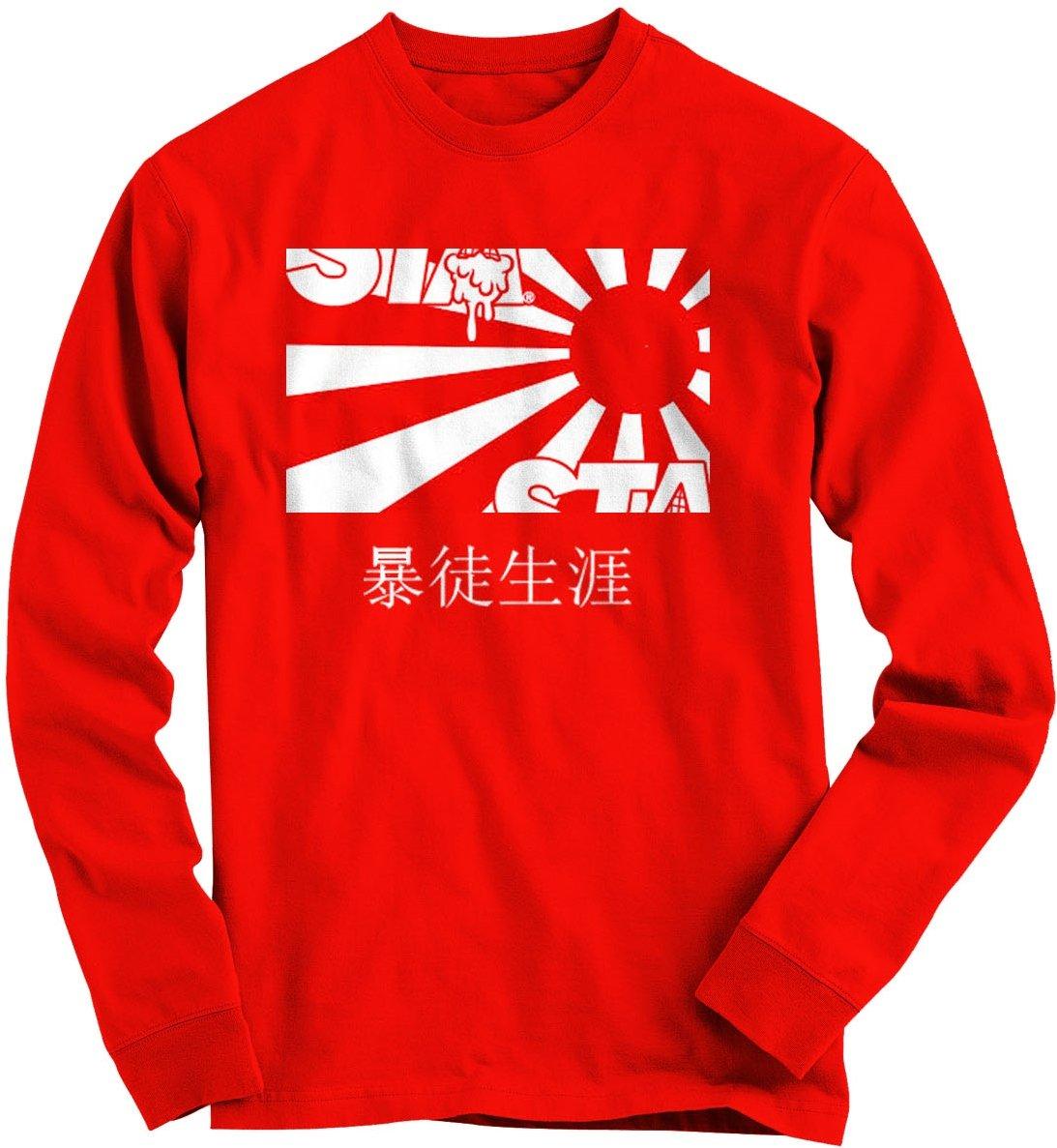 Image of Risen Sun Long Sleeve Red