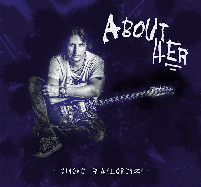 "Image of SIMONE GIANLORENZI ""ABOUT HER"" 2015 ALBUM"