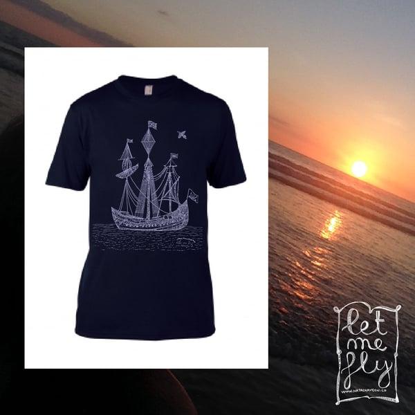 Image of Teeshirt Man *Boat*