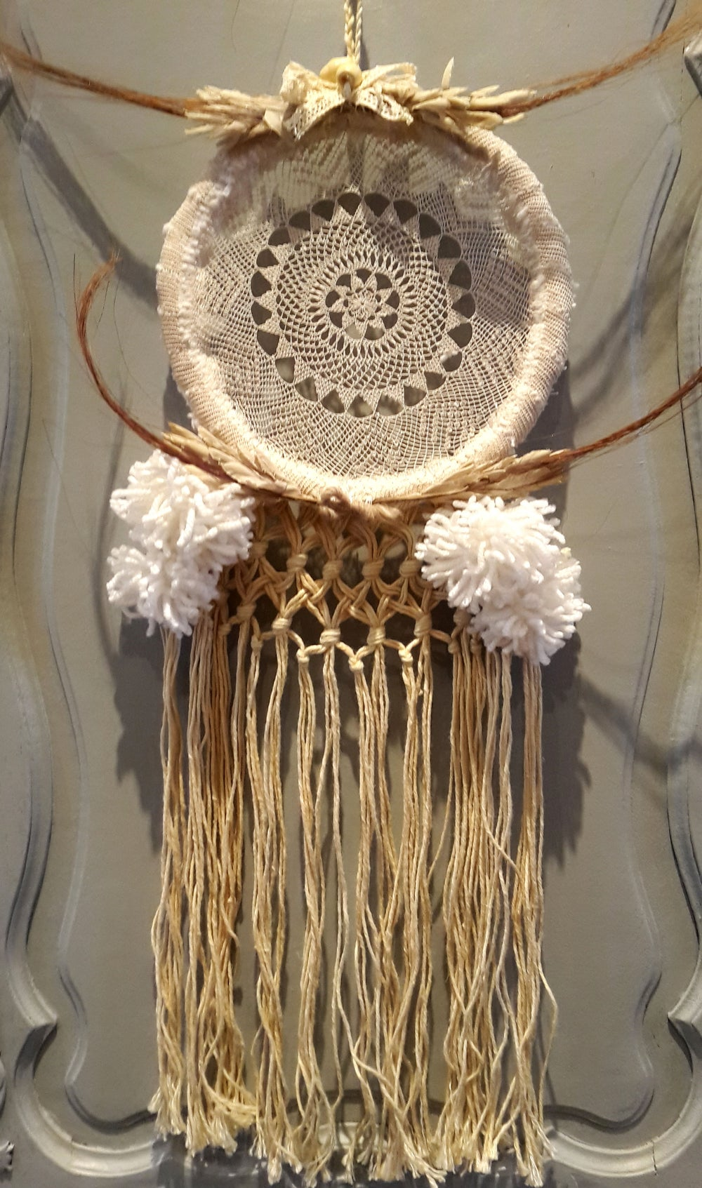 Image of Dream catcher attrape reve wall hanging decoration