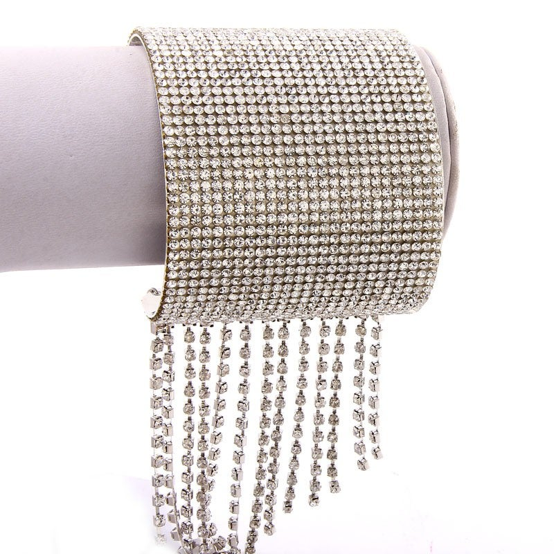 Image of Waterfall Crystal Cuff