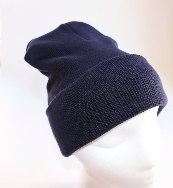 Image of Navy Blue Beanie