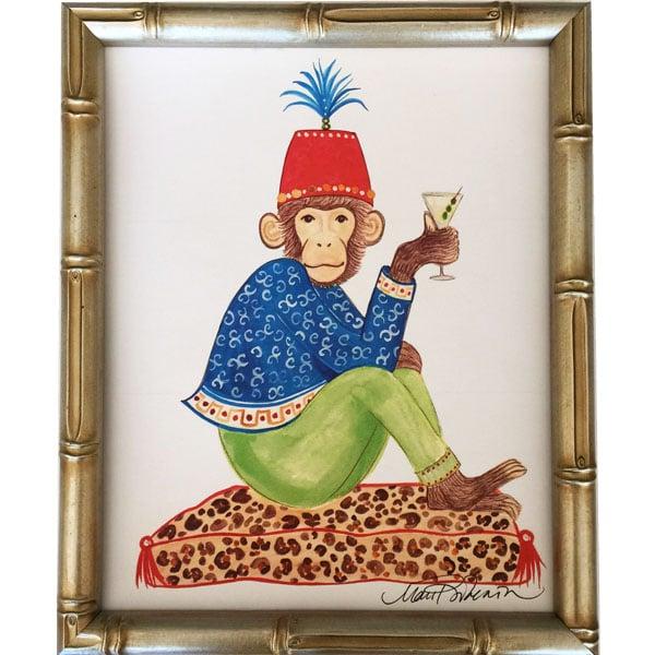 Image of Cheers Chimp Art Print
