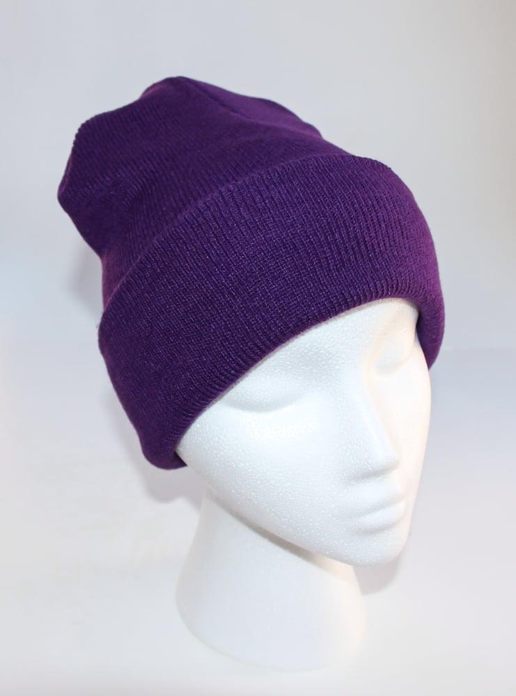 Image of Purple Beanie