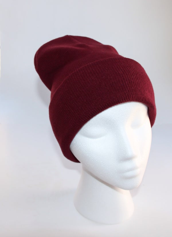 Image of Burgundy Beanie