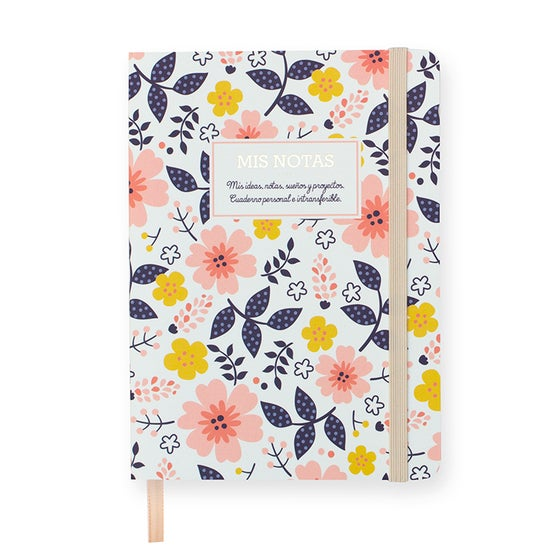 Image of Libreta de flores - Flowers Notebook