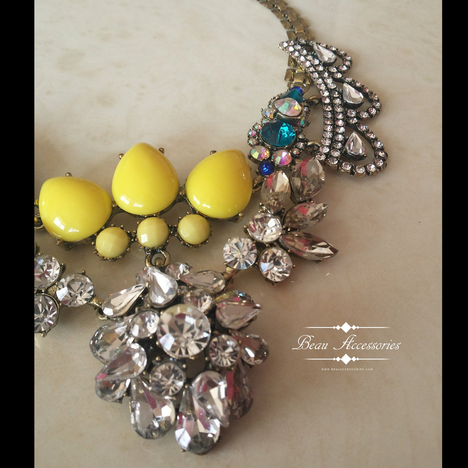 Image of Sunshine Sparkling Necklace