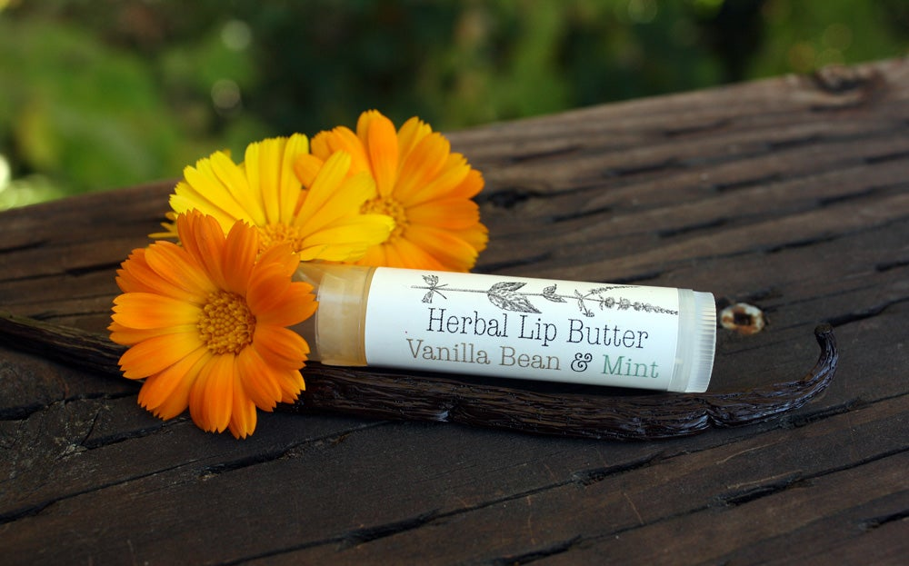 Image of Organic Vanilla Bean & Mint Lip Balm