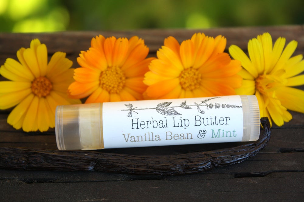 Image of Organic Vanilla Bean & Mint Lip Balm