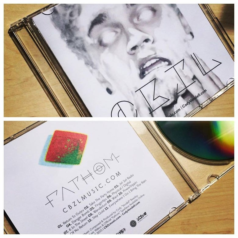 "Image of CBZL ""Fathom"" & ""Electric Entourage"" 