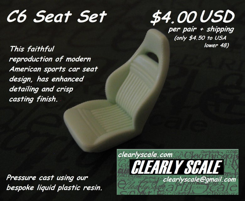 Image of C6 Sport Seat Set