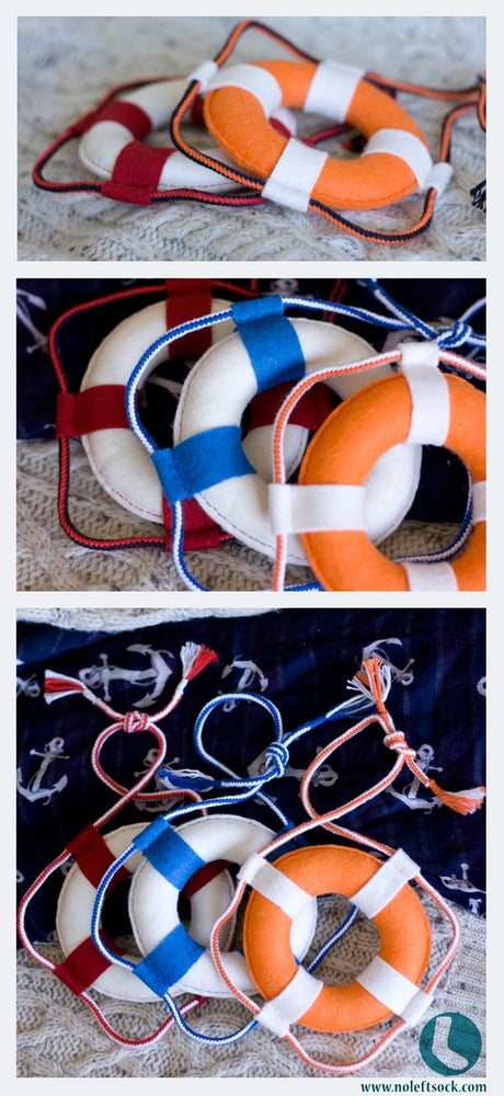 Image of Felt Life Buoy