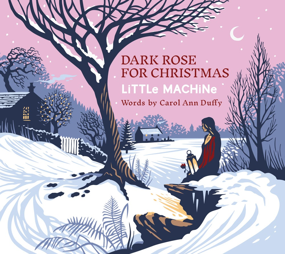 Image of Dark Rose For Christmas