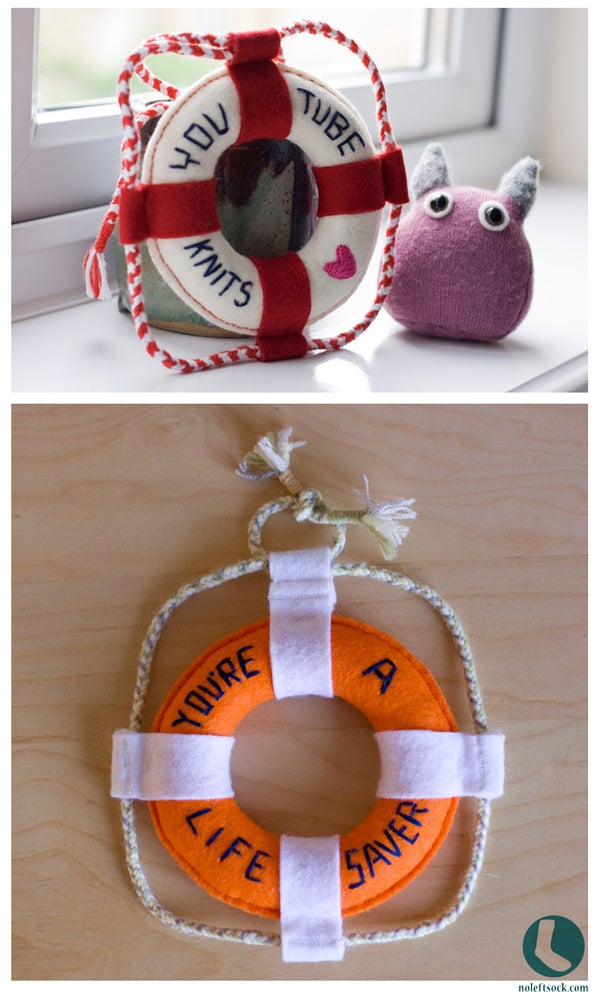 Image of Lifebuoy Add-on Embroidery