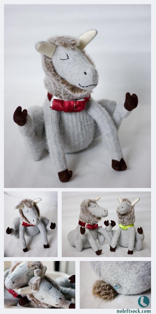 Image of Dapper Llama Plush Character
