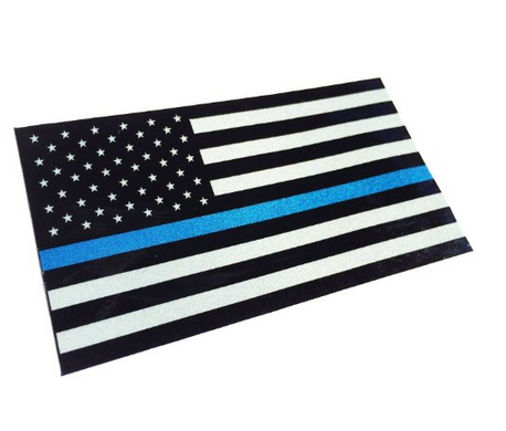 Image of #BlueLivesMatter Reflective Sticker MADE IN THE USA