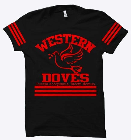 Image of Western Doves School Spirit Tee