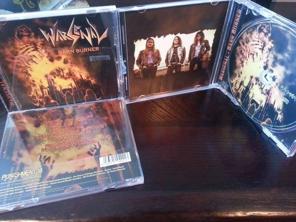 Image of Barn Burner CD