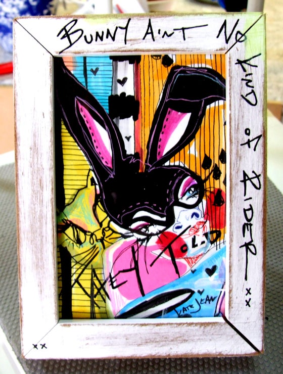 Image of Bunny Aint No Kind Of RIder