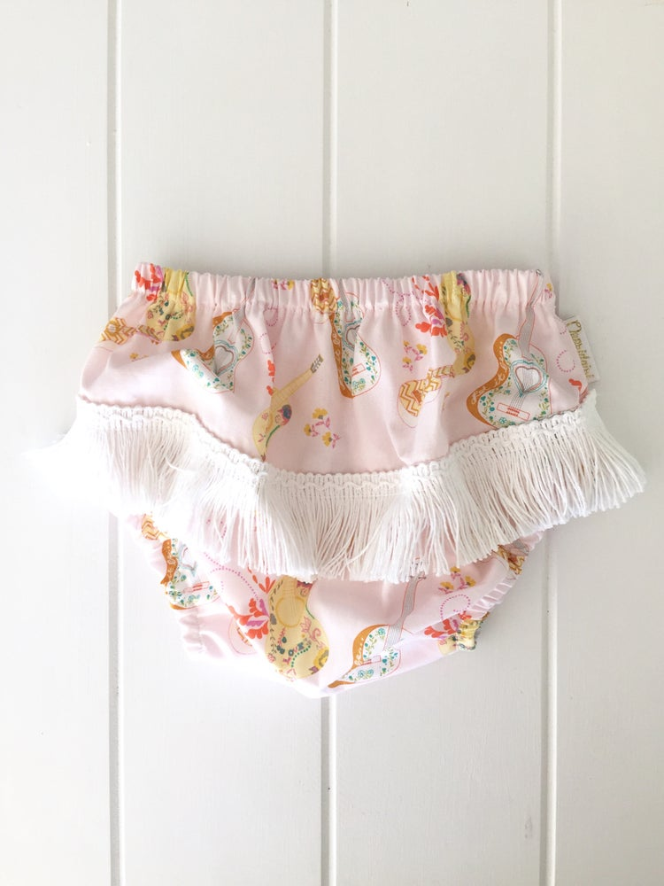 Image of Folksy Guitar - Tassel Bloomers
