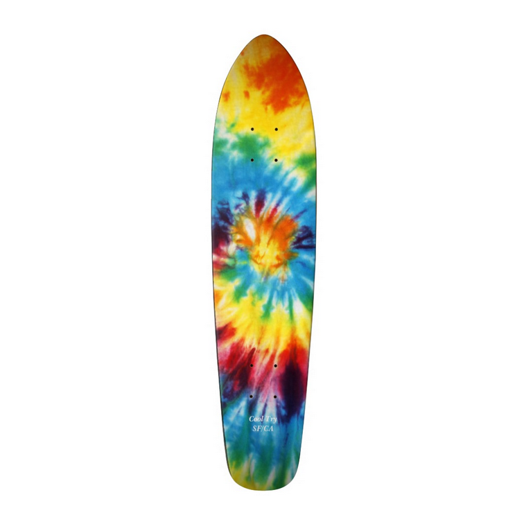 Image of Tie Dye Cruiser Board (Limited Edition)