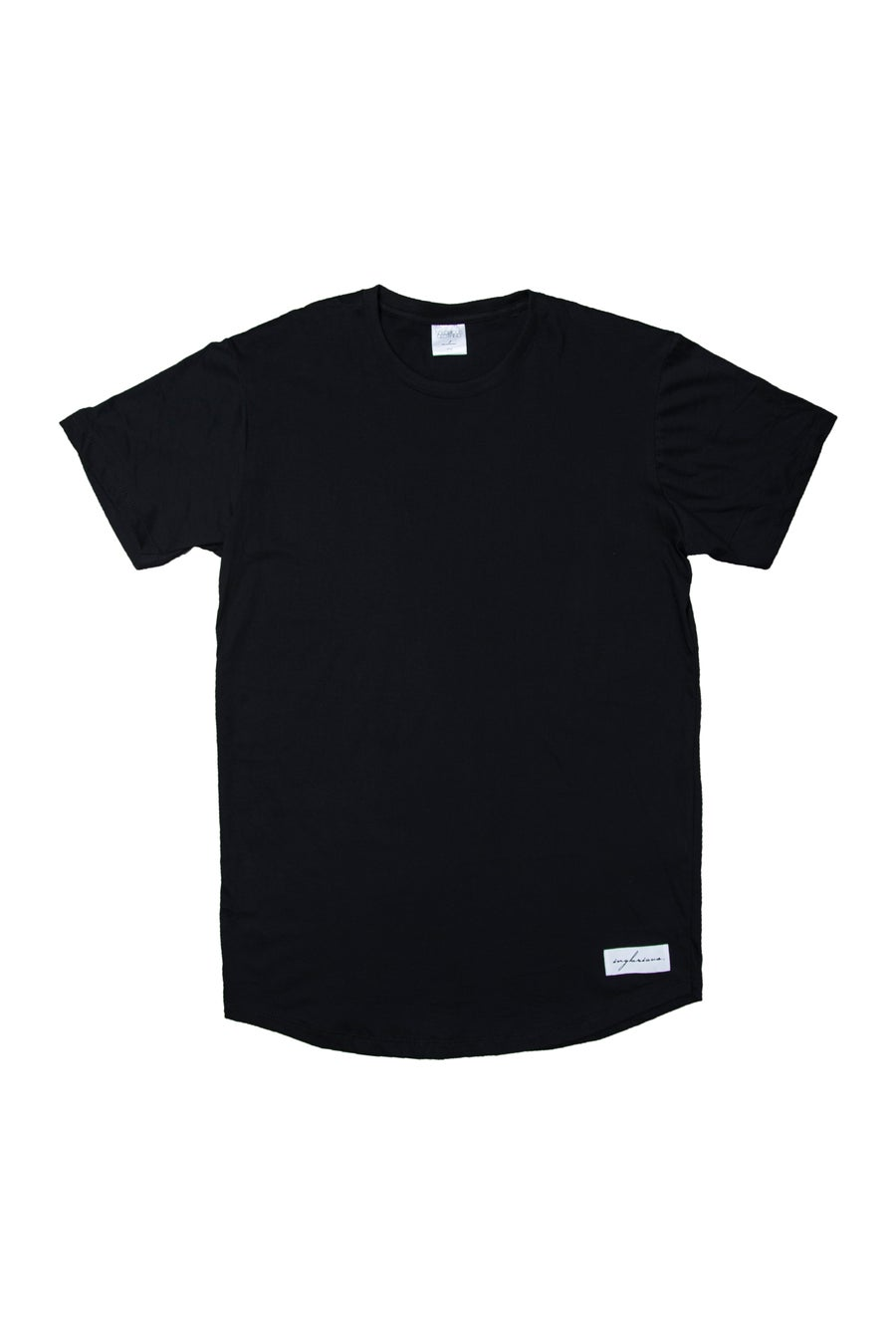 Image of Inglorious Curved Hem (Black)