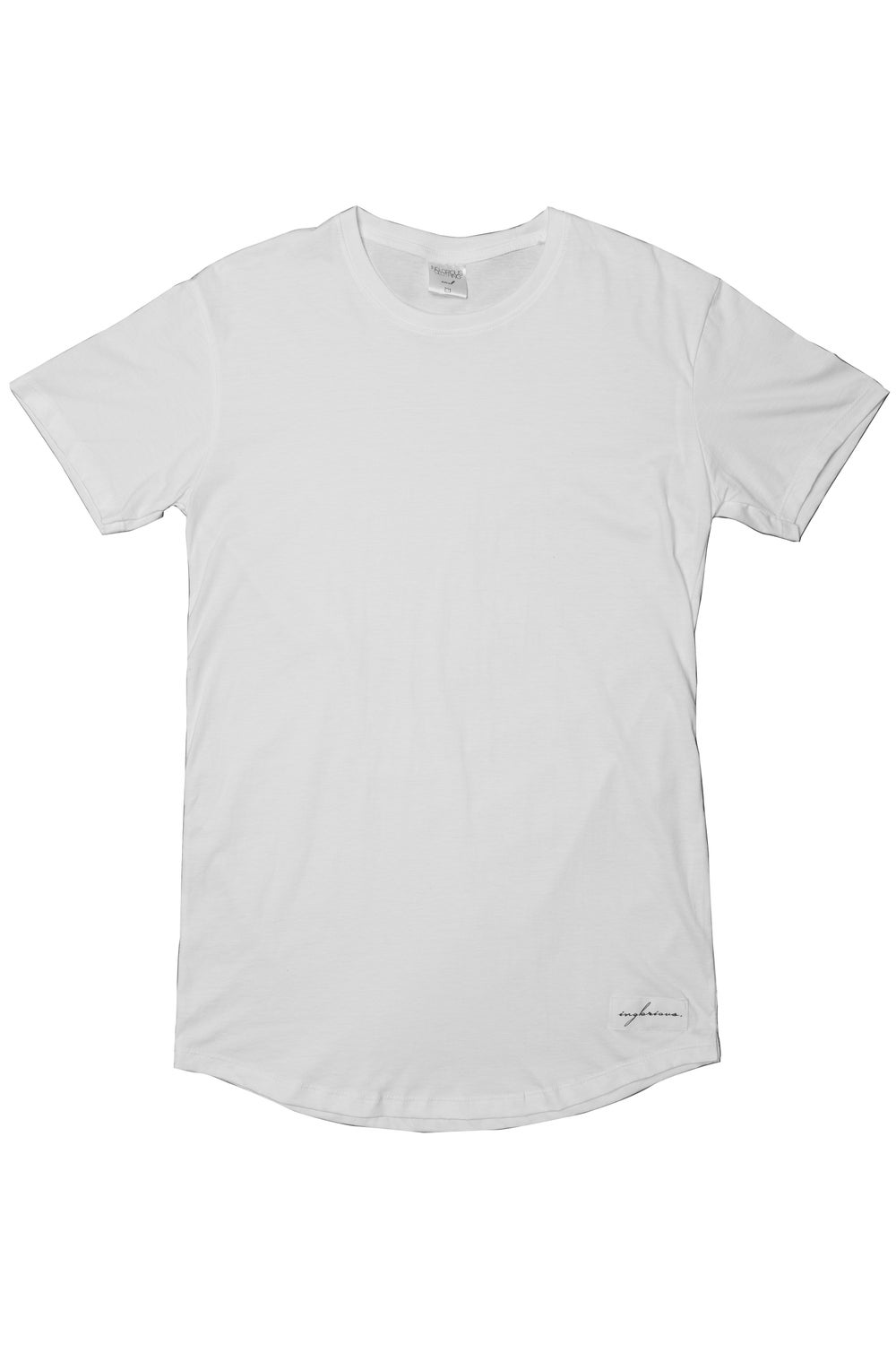 Image of Inglorious Curved Hem (White)