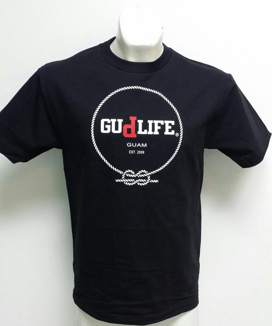 Image of GUd life knot (Black/Red/White)
