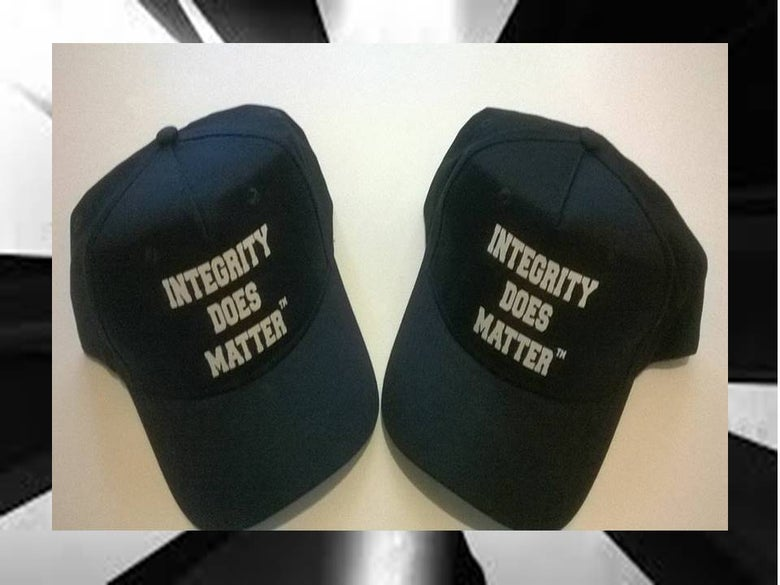 Image of Integrity Does Matter ™ Cap