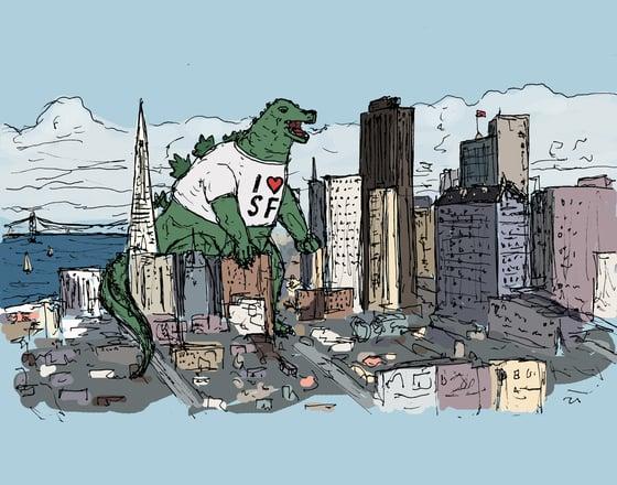 """Image of """"San Francisco Souvenir"""""""