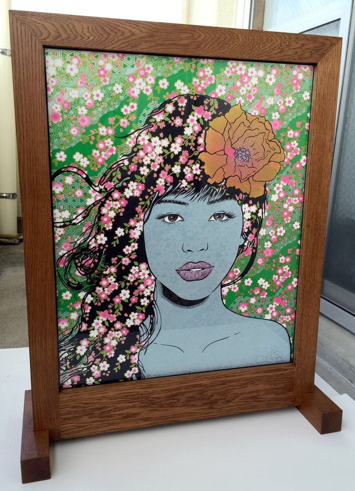 Image of SAKURA TSUITATE LIGHTBOX by Chuck Sperry