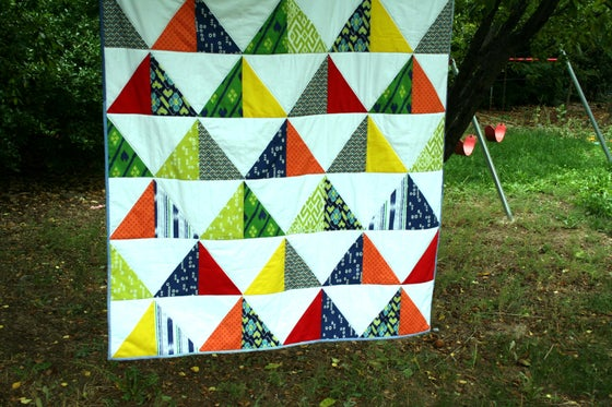 Image of Boy Quilt
