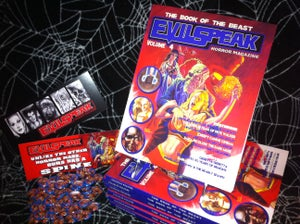 Image of Evilspeak Magazine - Volume #4 (trade paperback book)