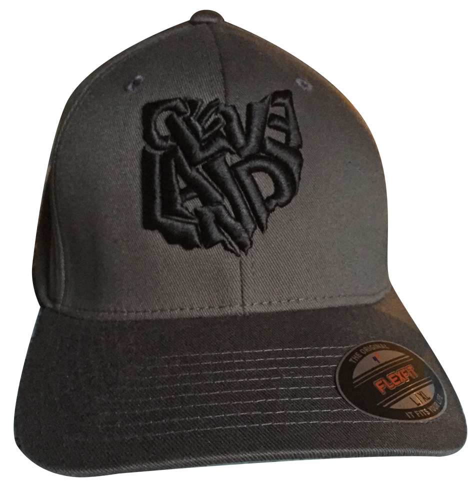 Image of Cleveland Ohio Hat Grey