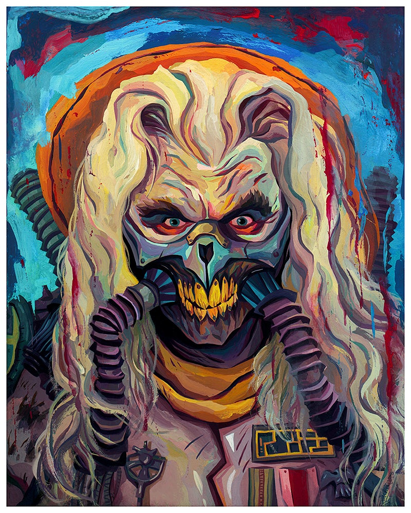 Image of Immortan Joe 16 x 20 Print