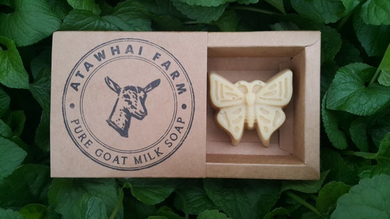 Image of Pure Goat Milk Soap - Butterfly (Medium)