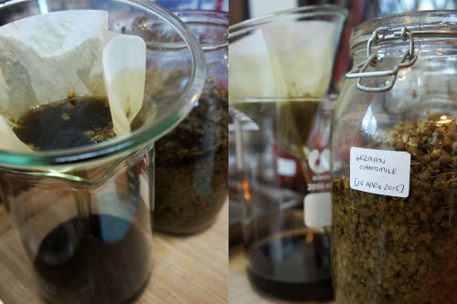 Image of GERMAN (or WILD) CHAMOMILE spagyric tincture - alchemically enhanced plant extraction