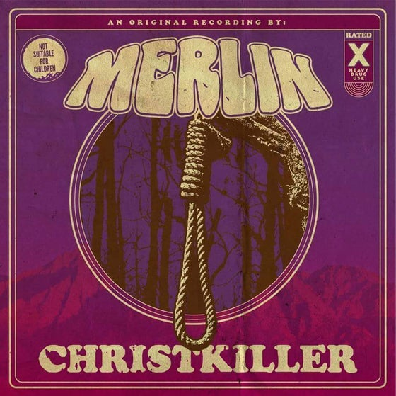 Image of Merlin: ChristKiller (Purple & White Split Color) 100 copies (Sold Out)