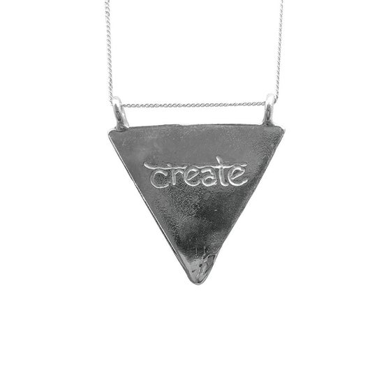 Image of Karmala Triangle Necklace Create